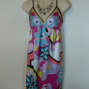 ICE / Colorful summer dress. Size 8